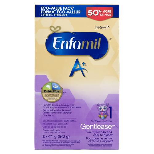 Sobeys Enfamil A+ Gentlease Infant Formula Powder Refill ...